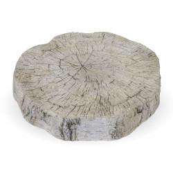 Podstavec z kameniny, dekor dřevo